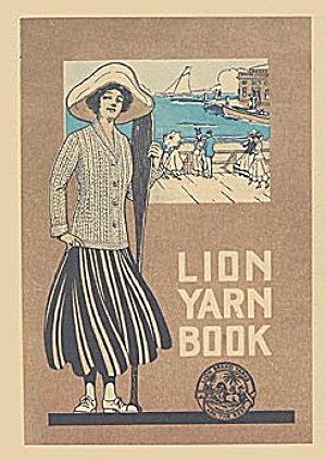 Knit & Crochet Vintage Styles from Lion Brand in the 1900s and Similar Modern Styles for Today