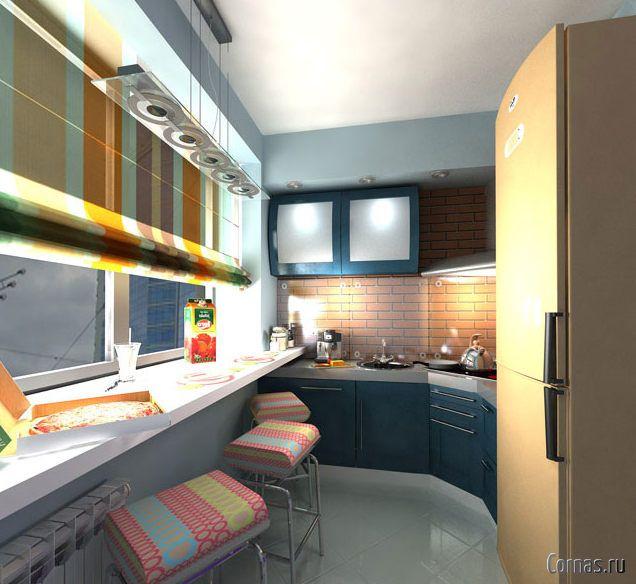 кухня на балконе или лоджии фото