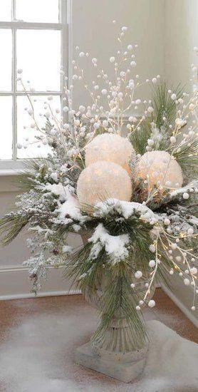 Winter decoratie