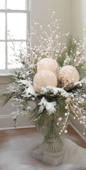 18 Winter Wonderland Home Decor Ideas {The Weekly Round UP} | This Silly Girl's LifeThis Silly Girl's Life