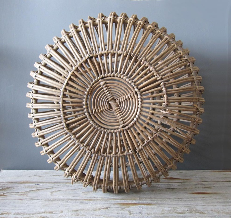 Franco Albini MidCentury Wicker Rattan by GallivantingGirls