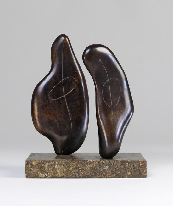 "contemporary-art-blog: ""  Henry Moore, Two Forms, 1934 """
