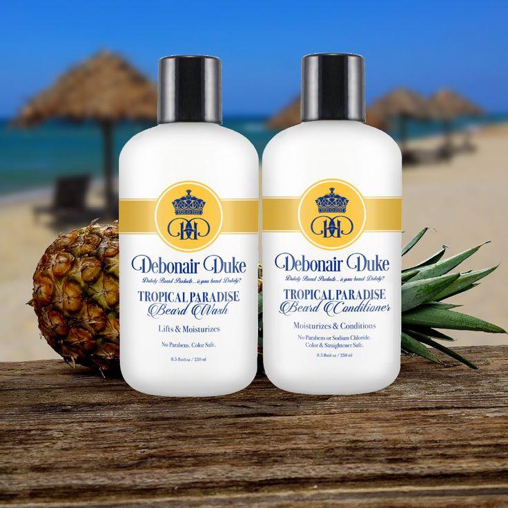 Tropical Paradise Beard Wash & Conditioner   Debonair Duke Beard Co – Debonair Duke