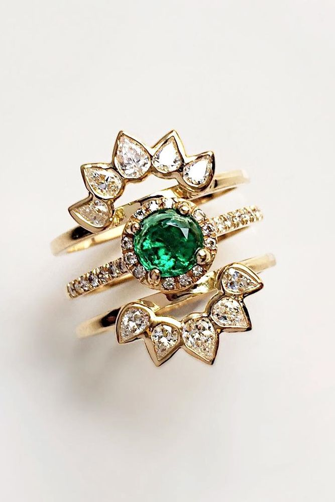27 insanely good colored engagement rings - Colored Wedding Rings