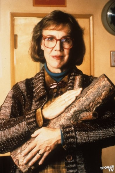 The Log Lady (from Twin Peaks -- filmed outside of Seattle in the country…