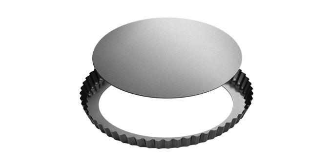 Forma s vlnitým okrajem a odnímatelným dnem DELÍCIA ø 28 cm