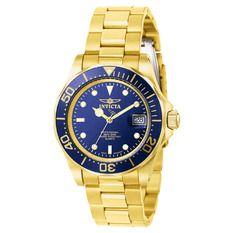 Belanja Invicta Pro Diver - Mens Watch - Gold - Stainless Steel Strap - 16331…