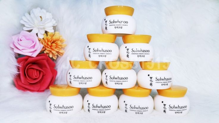 Sulwhasoo Essential Firming Cream EX 5ml Sample 10 pcs  AMORE PACIFIC #Sulwhasoo