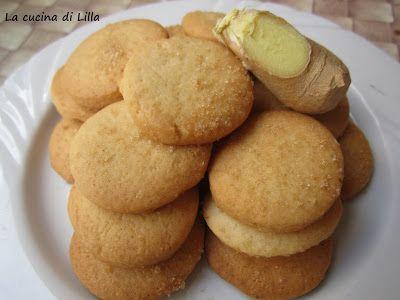 Biscotti Biscotti allo zenzero  Questi biscottini allo zenzero sono una gradevole sorpresa per terminare il pasto, al contempo freschi, pic...