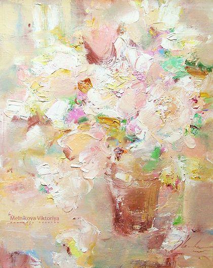 """Картина """"Пряная карамель"""" - картина в детскую,картина в подарок,картина маслом"""