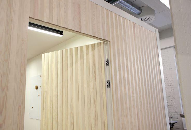 Karell Design Viiste panels @Rune & Berg Design agency in Helsinki Finland.