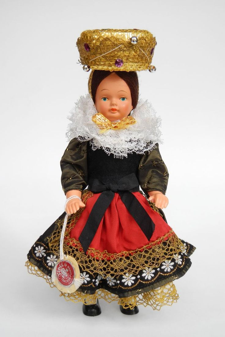 Germany | Black Forest Bride Doll by Stoll