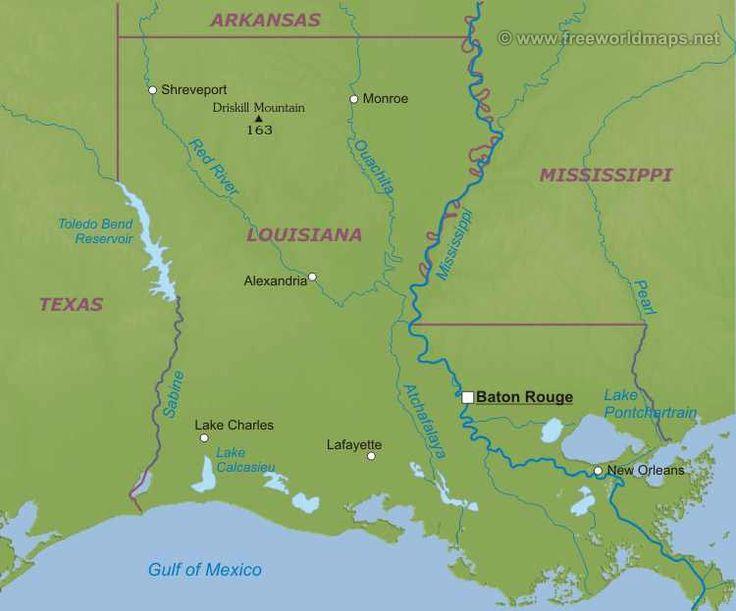 Луизиана штат : флаг штата Луизиана Луизиана (англ. Louisiana; фр. Louisiane; исп. Luisiana) — штат на юге США, 18-й штат, вошедший в Союз. Столица — Батон-Руж, крупнейший город — Новый Орлеан (до урагана Катрина). Общая площадь 134 182 км² (31 место в США), в том числе на сушу приходится 112 927 км²...