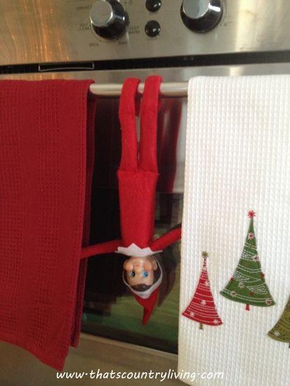 elf on the shelf | Elf on the Shelf: Just Hangin' Around