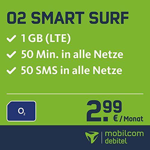 #Sale O2 #Smart Surf mit 1GB #LTE #Internet #Flat max. 21 1 MBit/s  50 Frei #Minuten & 50 S...  #Sale Preisabfrage / O2 #Smart Surf mit 1GB #LTE #Internet #Flat max. 21,1 MBit/s, 50 Frei-Minuten & 50 SMS in #alle deutschen Netze, 24 Monate Laufzeit,  monatlich nur 2,99 EUR, Triple-Sim-Karten  #Sale Preisabfrage   Mobilfunktarif #fuer Ihr #Handy #fuer 2,99 EUR monatlich mit einer Laufzeit von 24 Monaten, ab dem http://saar.city/?p=34599