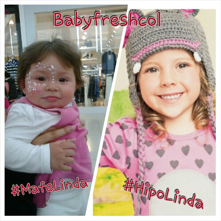 #MafeLinda e #HipoLinda Amigas @babyfreshcol