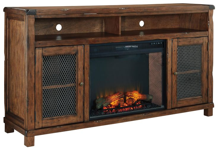 Mattress Stores Tyler Tx Tamonie XL TV Stand with Electric Fireplace Insert by Ashley Signature ...