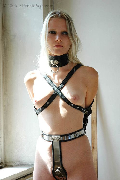 Chastity Belt Armbinder Collar From The Apparently Defunct Afetishpage Com Chastity