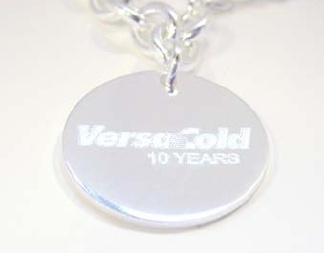 Length of service gift choice for Versacold employees celebrating 10 years. The concept was designed to complement existing program which lacked recognition ideas for women.