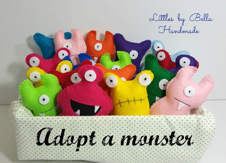 Adopt a  monster party station favors  adopt a  Monster Party theme Favors monster supplies child friendly monsters Hallowen plushies by littlesbyBella on Etsy https://www.etsy.com/listing/207866747/adopt-a-monster-party-station-favors birthday party favors?