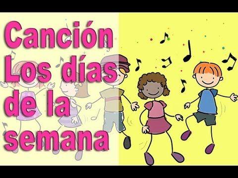 Canción los dias de la semana para niños - Video Educativo - Canta y Aprende #