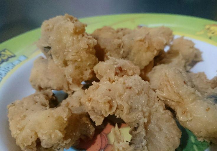 Patin goreng tepung by me