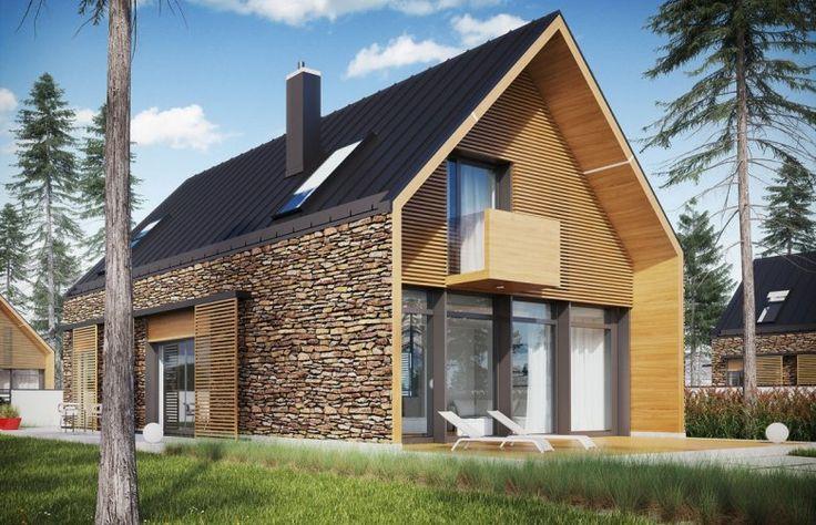 Projekt domu nowoczesnego EX 15 II