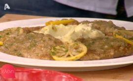 #Μοσχαρίσια #σκαλοπίνια με #σάλτσα #λεμονιού #eleni #ελενη