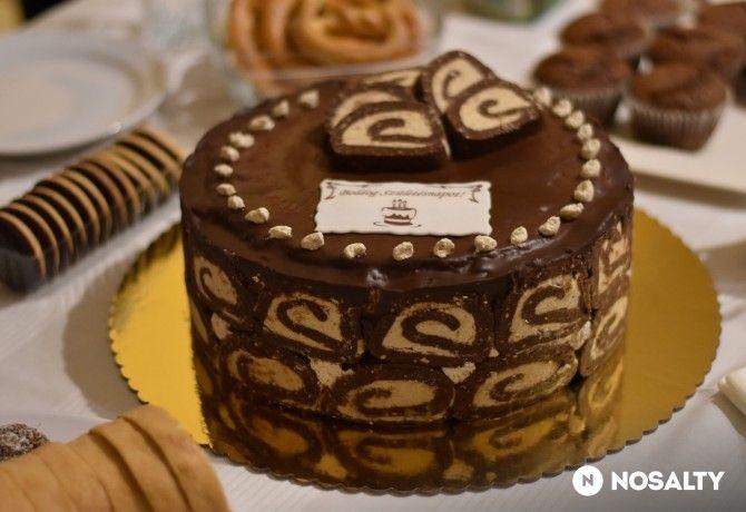 Tripla gesztenyés torta Beától