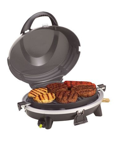Love this All-In-One Signature Portable Grill by Coleman, this would be perfect for our motorcycle tent trailer