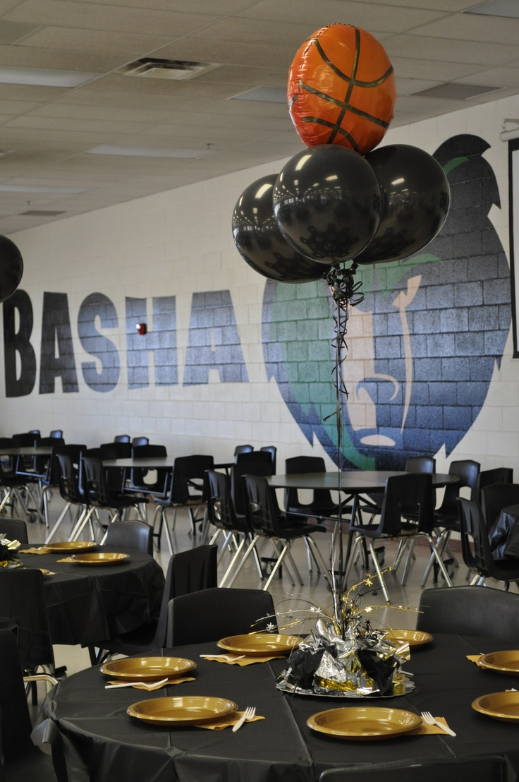Basha Girls Basketball End Of Season Banquet Table