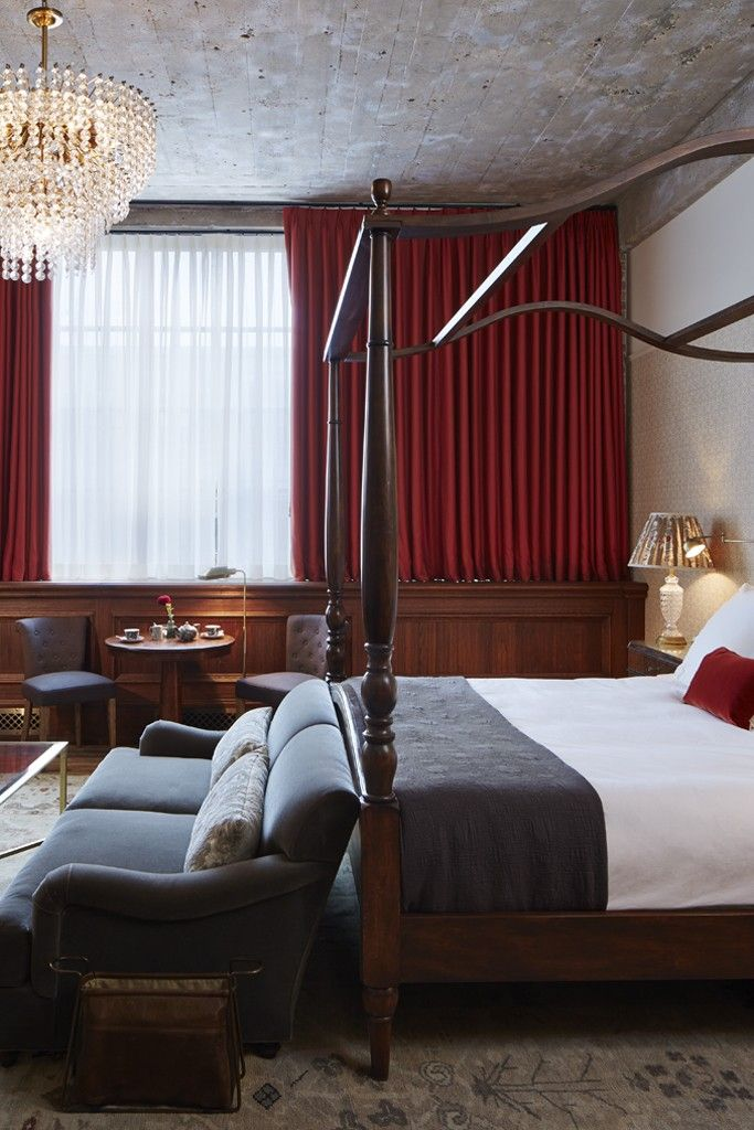 A guest room at Soho House Chicago. [Courtesy Photo]