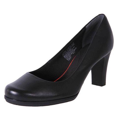 Rockport Womens Total Motion Comfort Office Shoes V75942 BLACK | The Shoe  Link