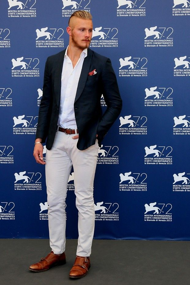 Alexander Ludwig: bons truques de moda masculina para garantir mais estilo (Foto: Getty Images)