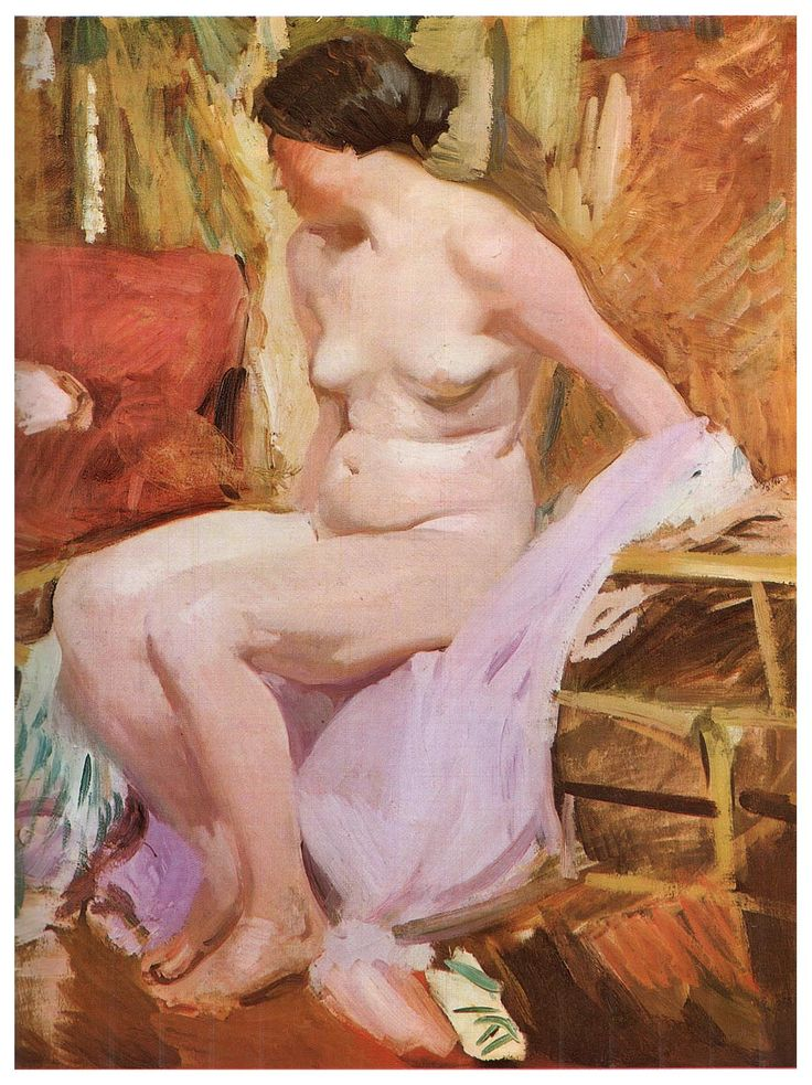 Joaquín Sorolla y Bastida (1863-1923) Desnudo de mujer, 1916, oil on canvas, Museo Sorolla, Madrid