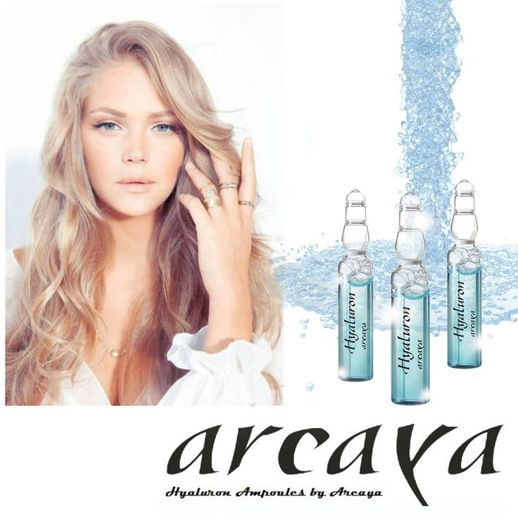 100% more moisture for your skin. Quench the skin's thirst with #Arcaya #skincare.