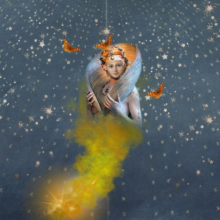 """""""Genie"""" Made with Fairy Spells and various other kit elements."""