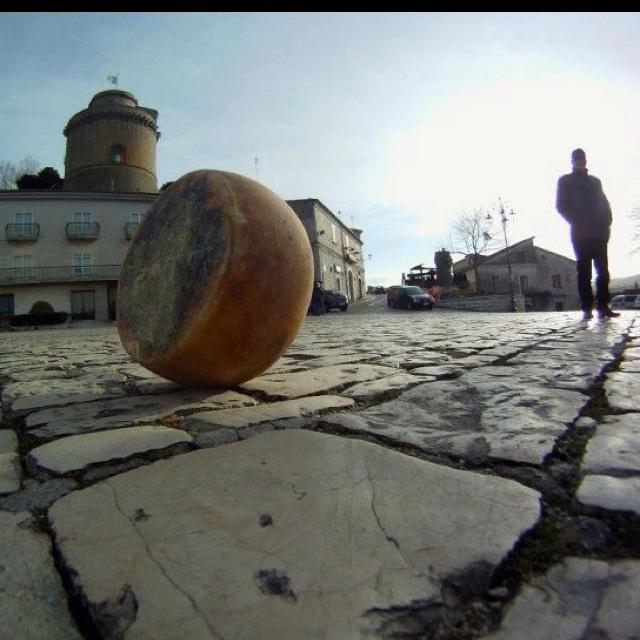 """La Ruzzola del Formaggio """"The Rolling of the Cheese"""" in Pontelandolfo, Benevento, Italy!"""