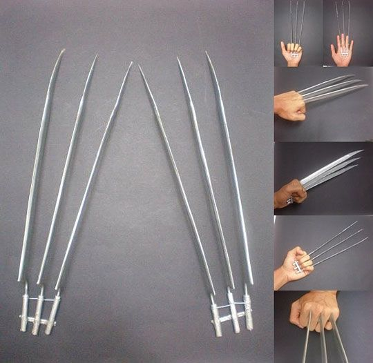 Wolverine Claws. My boys would love this...too bad they aren't very good with sharp objects.