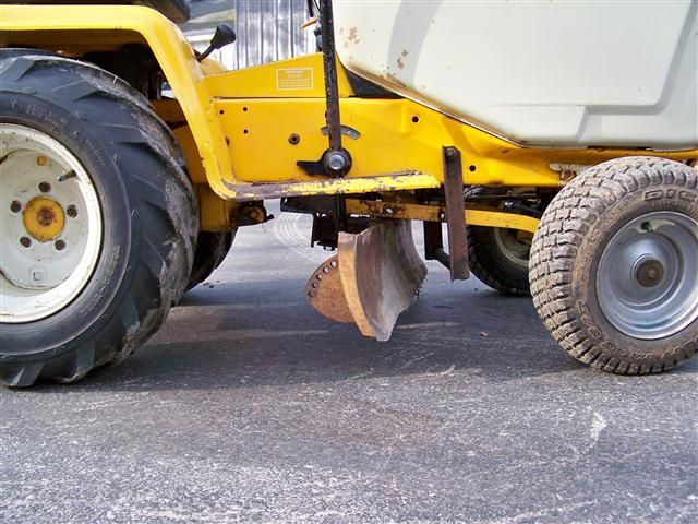 Home Built Tractor Attachments : Best images about garden tractor attachments on
