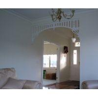 Interior Fretwork - Dan Hall Arch - Ryan Woodworks