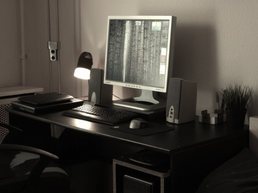 Hi! My name is Attila. I'm a mechanical engineer, and this is my home office setup.
