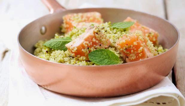 Chiara Maci: Cous cous profumato alla menta, lime, pistacchi e ...