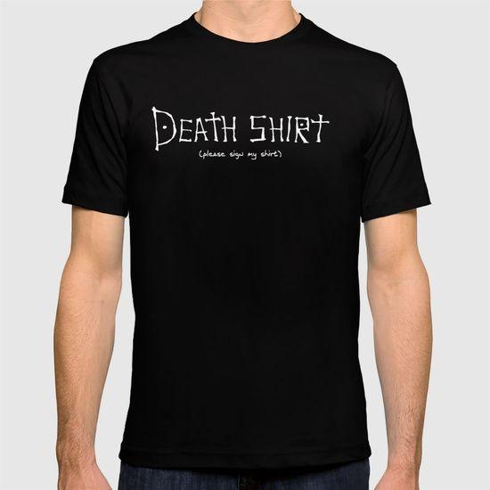 death shirt T-shirt: Death Note