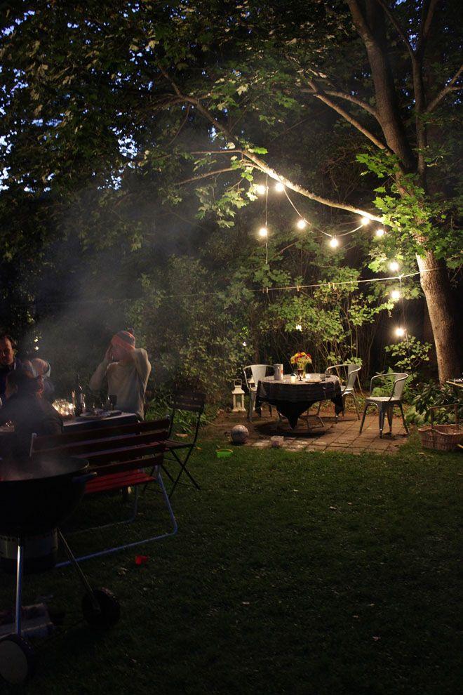 Voiko ilta olla enää tunnelmallisempi? #puutarha #pihavalaistus #netrautalikes