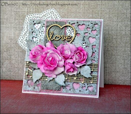 Kartka walentynkowa / Valentine's card