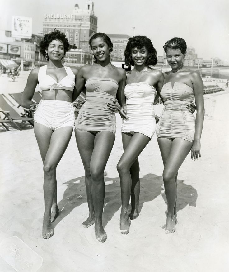 This photo is one of thousands shot by  Philadelphia photographer John W. Mosley from the 1930s through the 1960s on Chicken Bone Beach in Atlantic City, NJ. Mr. Mosley's archives are housed at Temple University in Philadelphia. Photo: John W. Mosley, Courtesy of the Charles L. Blockson Afro-American Collection, Temple University Libraries.