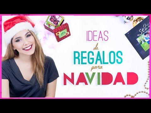 IDEAS de REGALOS para NAVIDAD + GIVEAWAY/SORTEO ♥ Jimena Aguilar - YouTube