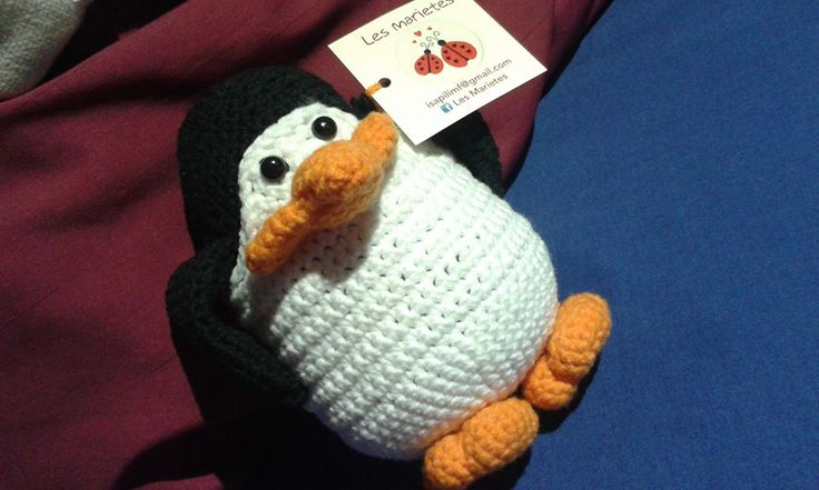 PINGUINO CROCHET
