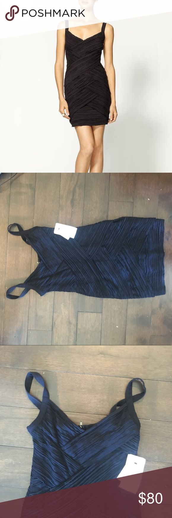 NWT Bailey 44 Mayhem Bandage Dress (NAVY) BEAUTIFUL dress for any fancy occasion or night out. Is a dark navy and fits snug and sexy. Super soft and zips in back. Make offers!!! Bailey 44 Dresses
